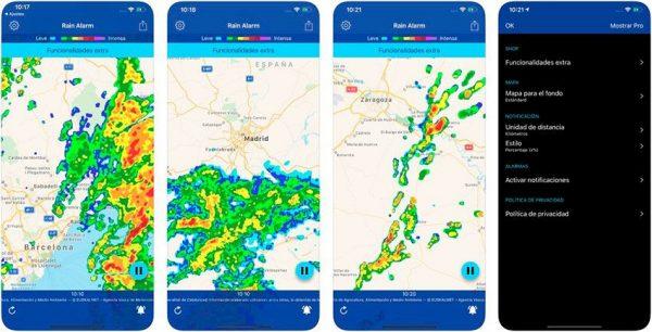 apps para moteros rains