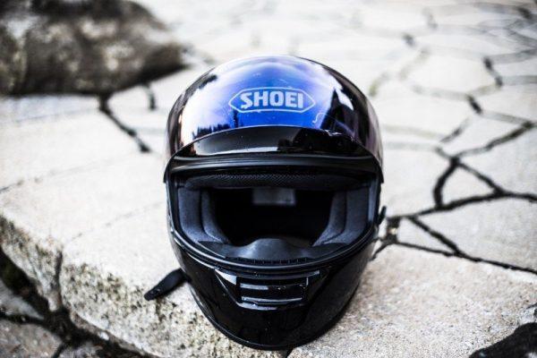 limpiar casco moto