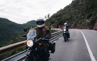 avoid motorbike accident