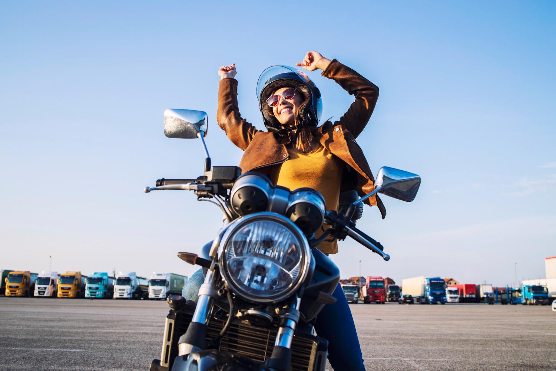 Beneficios de ir en moto